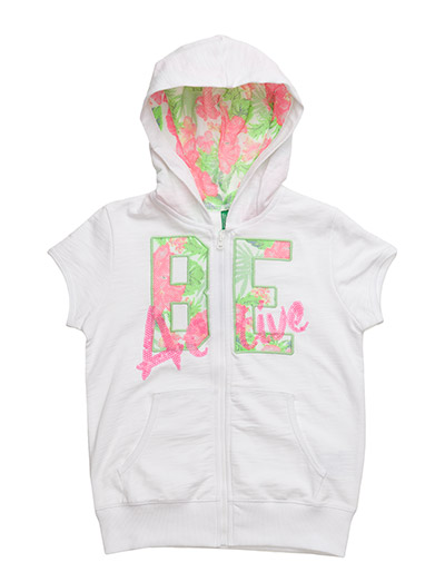 United Colors of Benetton Girls JACKET W/HOOD H/S