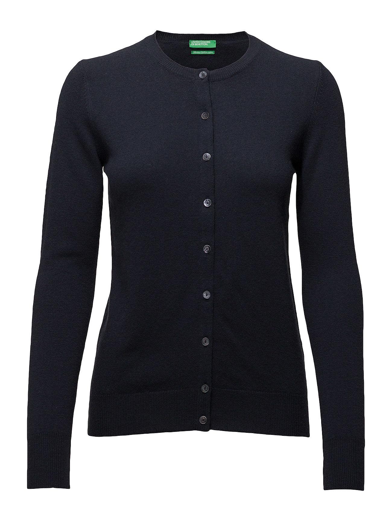 L/S Sweater United Colors of Benetton Cardigans til Damer i 06U