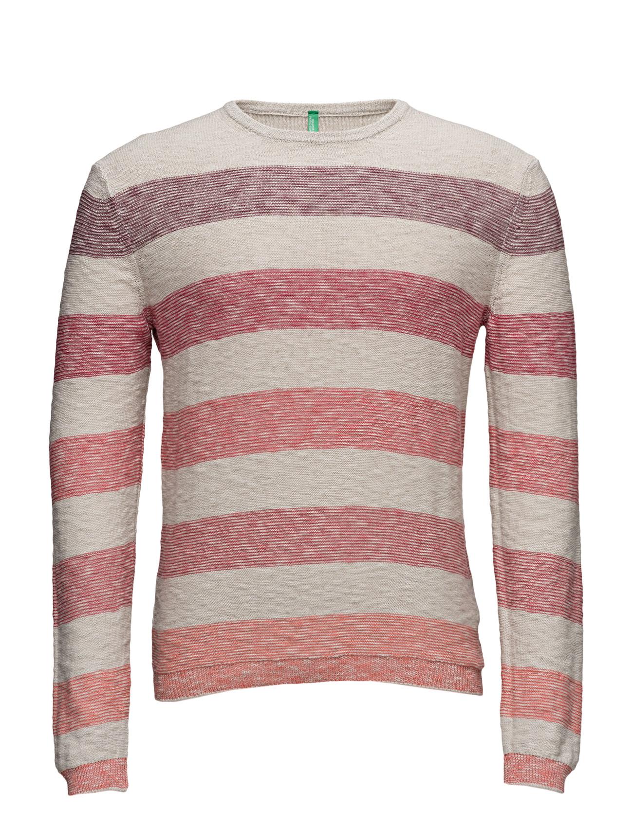 Sweater L/S United Colors of Benetton Rundhalsede til Mænd i
