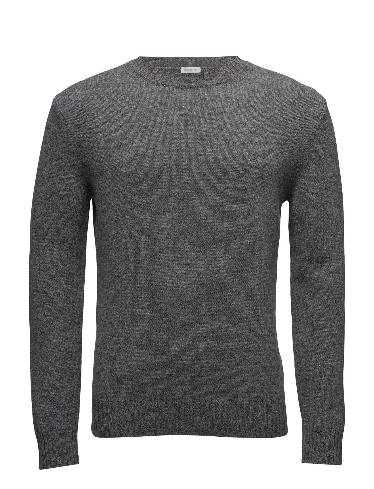 Sweater L/S United Colors of Benetton Rundhalsede til Herrer i