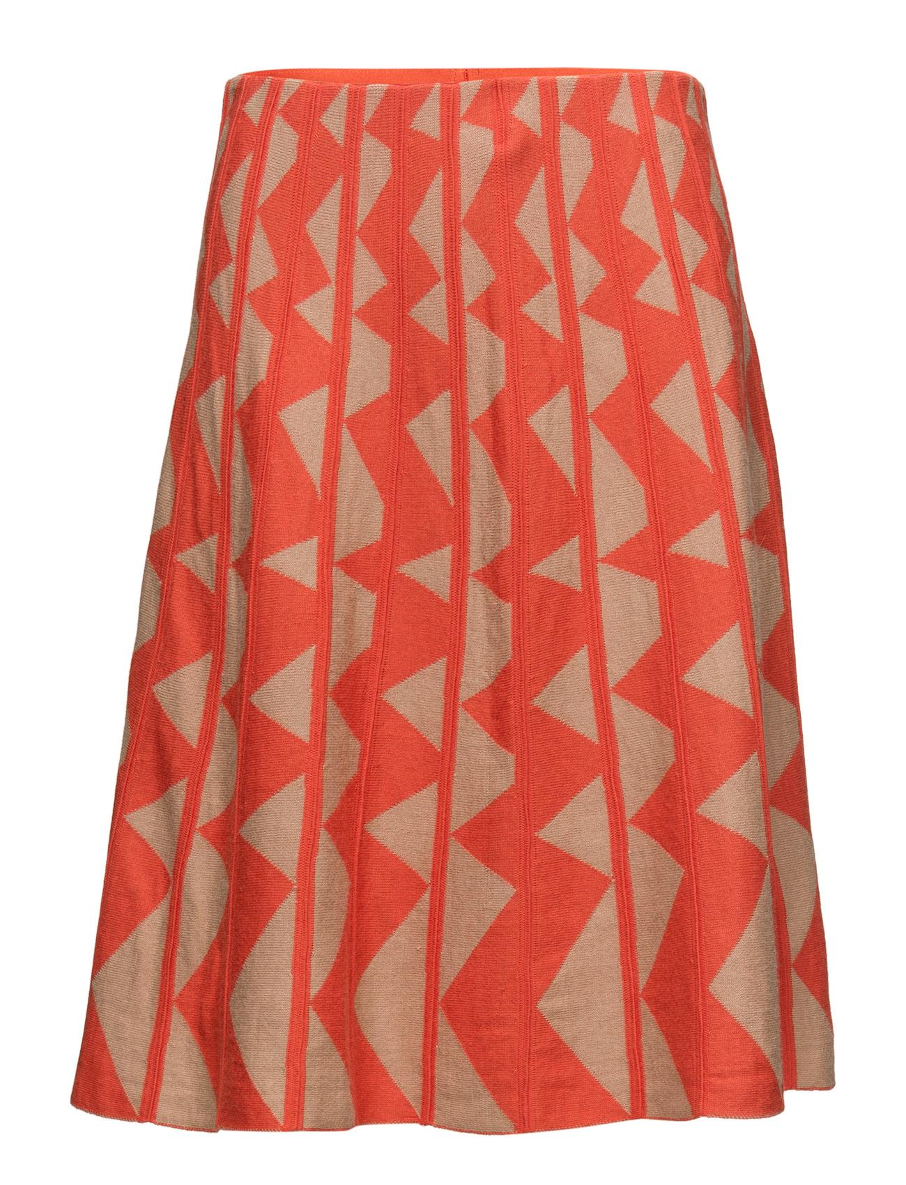 Skirt United Colors of Benetton Knælange & mellemlange til Kvinder i orange