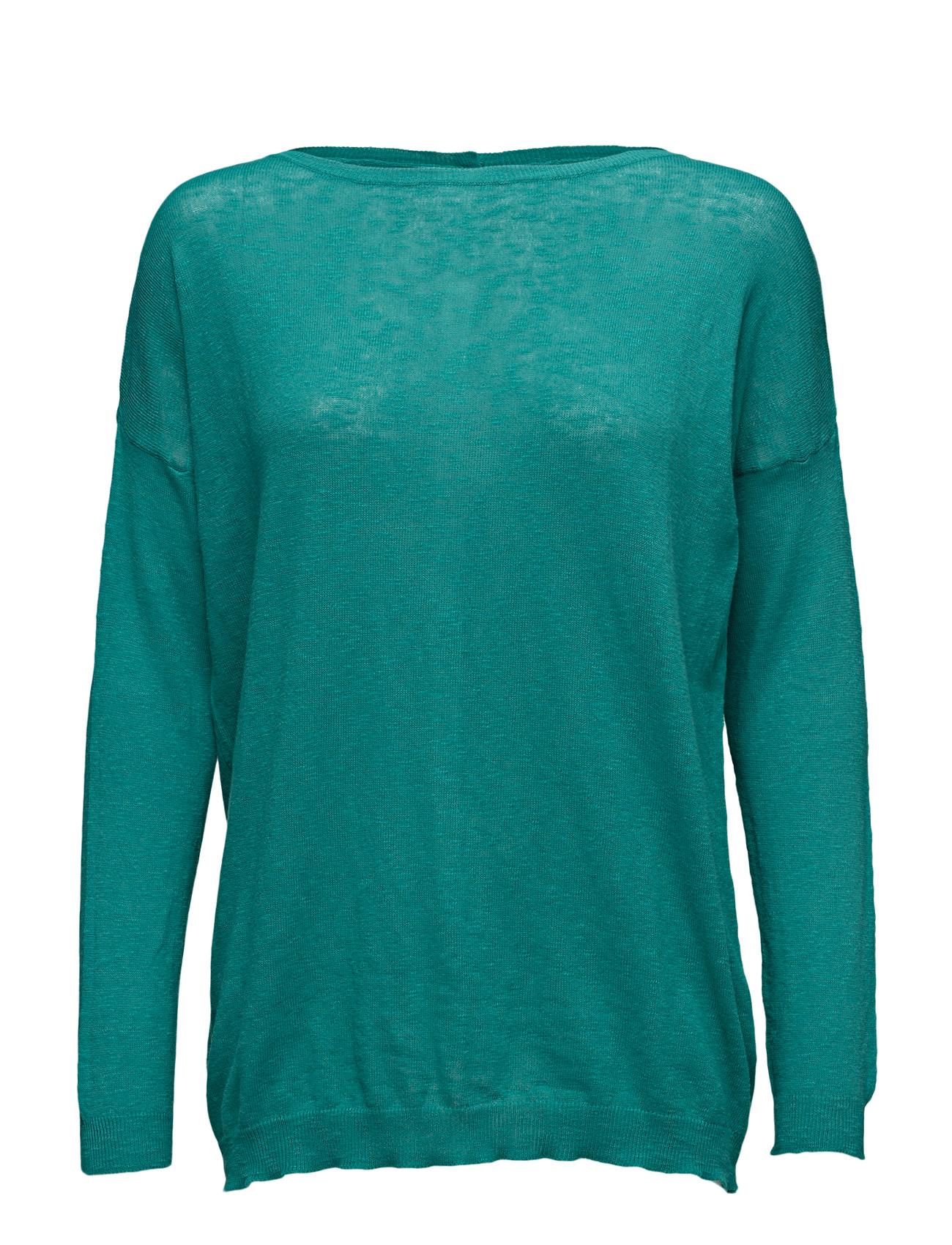 Sweater L/S United Colors of Benetton Sweatshirts til Kvinder i Navy blå
