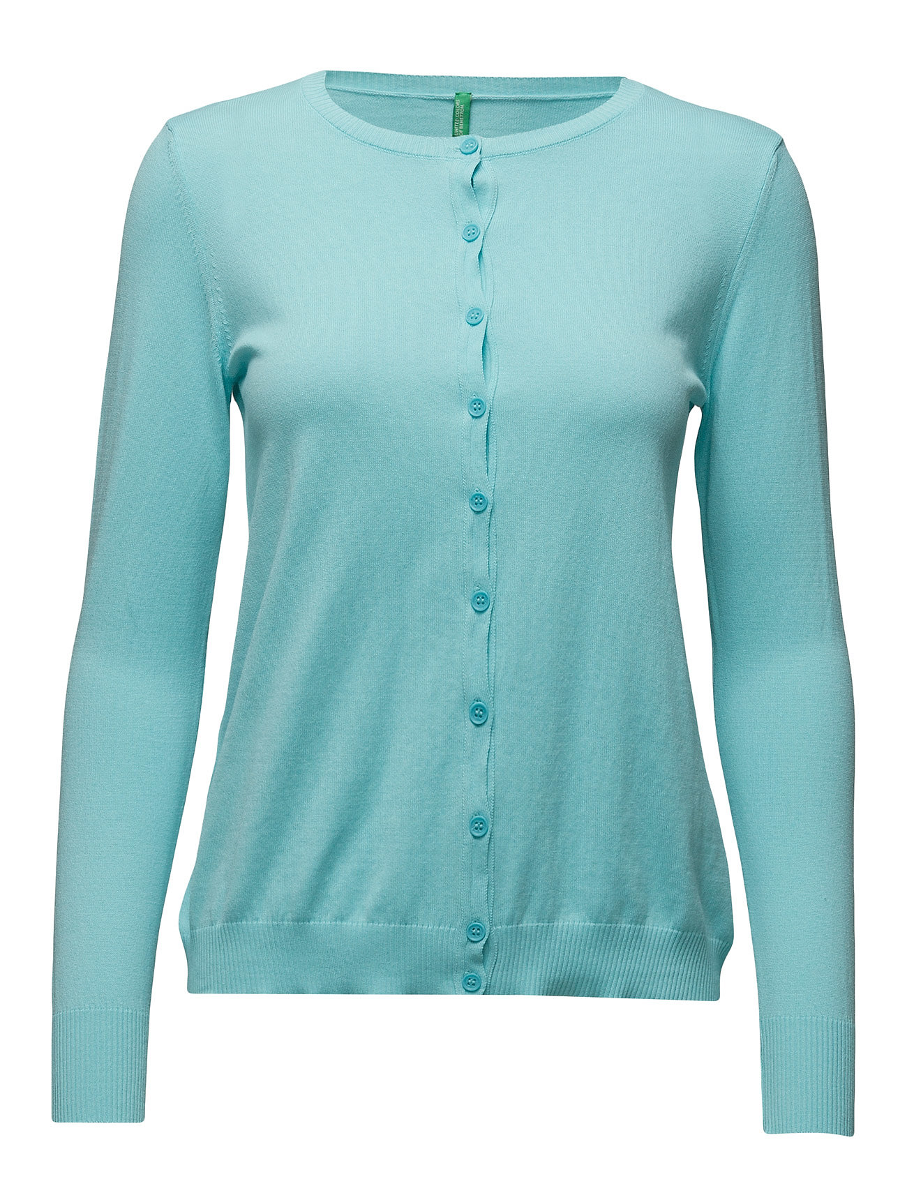 L/S Sweater United Colors of Benetton Cardigans til Damer i