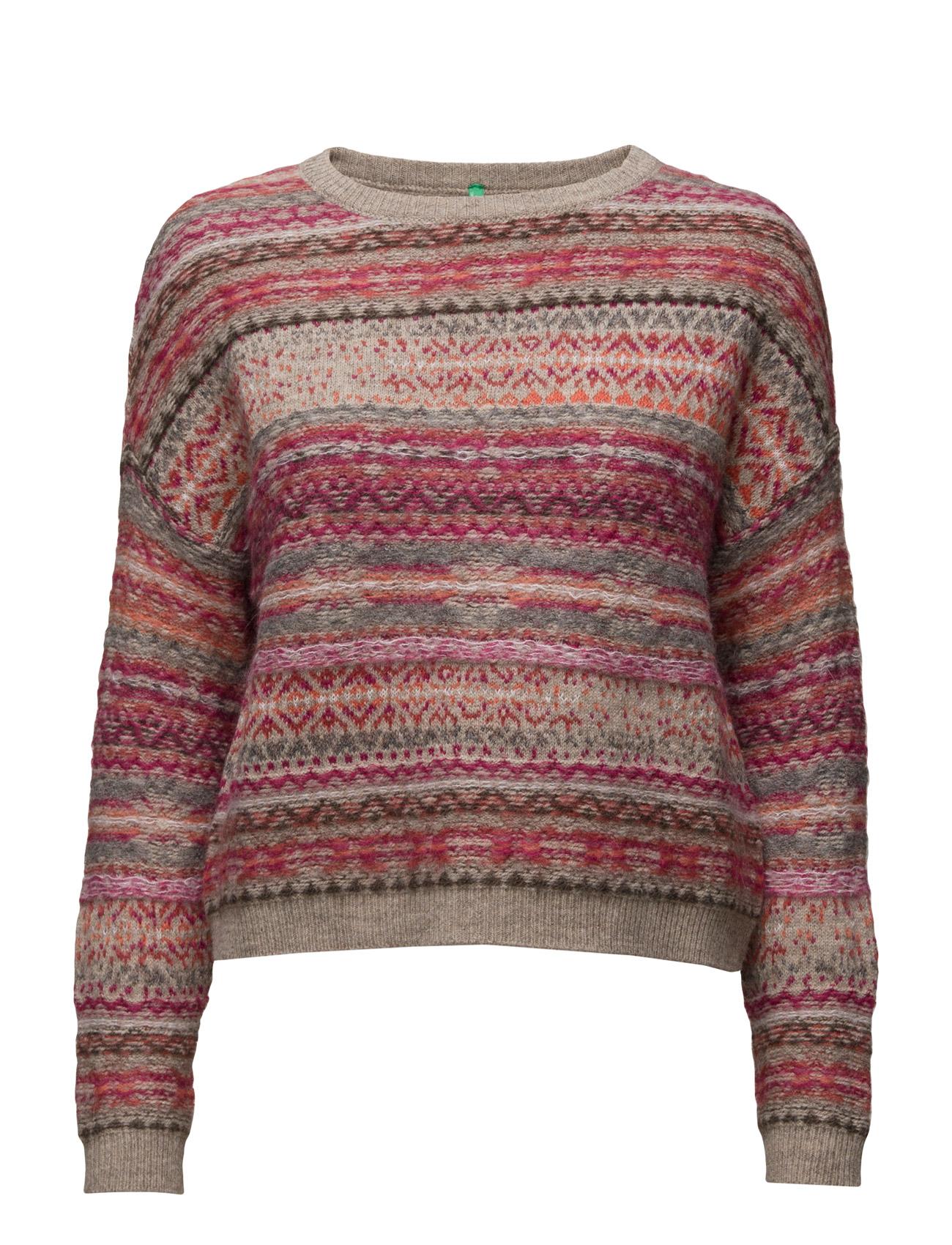 Sweater L/S United Colors of Benetton Sweatshirts til Kvinder i
