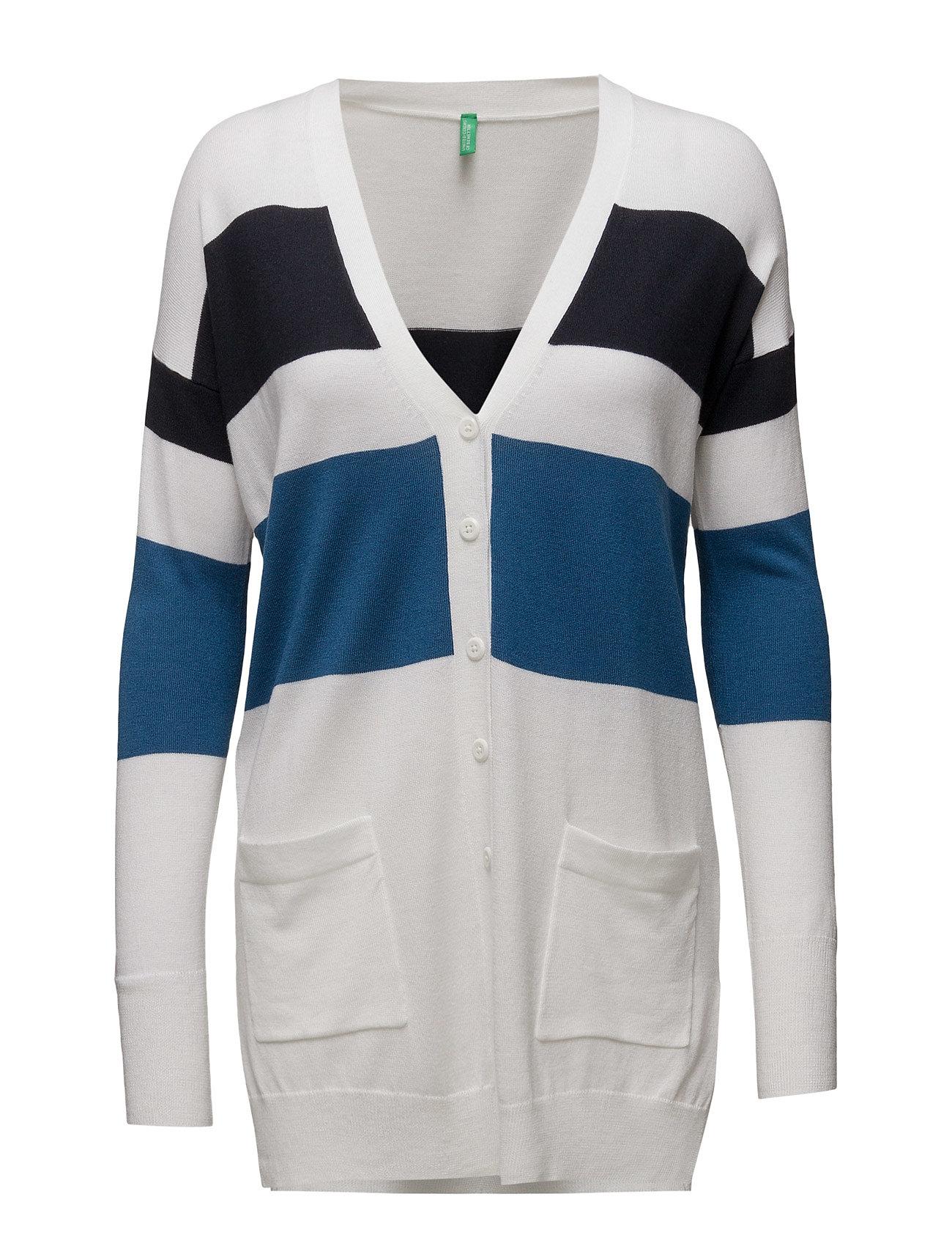 L/S Cardigan United Colors of Benetton Cardigans til Damer i