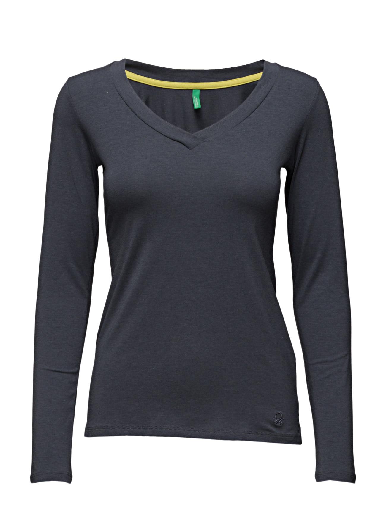 T-Shirt L/S United Colors of Benetton Langærmede til Kvinder i