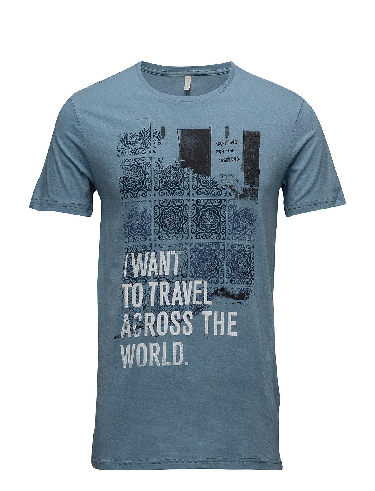 T-Shirt United Colors of Benetton T-shirts til Mænd i