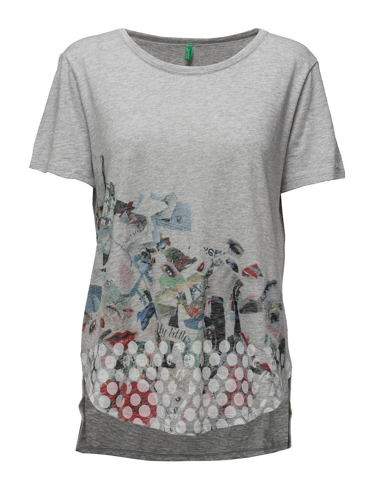 T-Shirt United Colors of Benetton Kortærmede til Damer i
