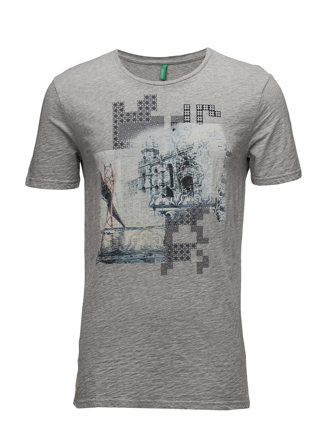 T-Shirt United Colors of Benetton Kortærmede til Herrer i