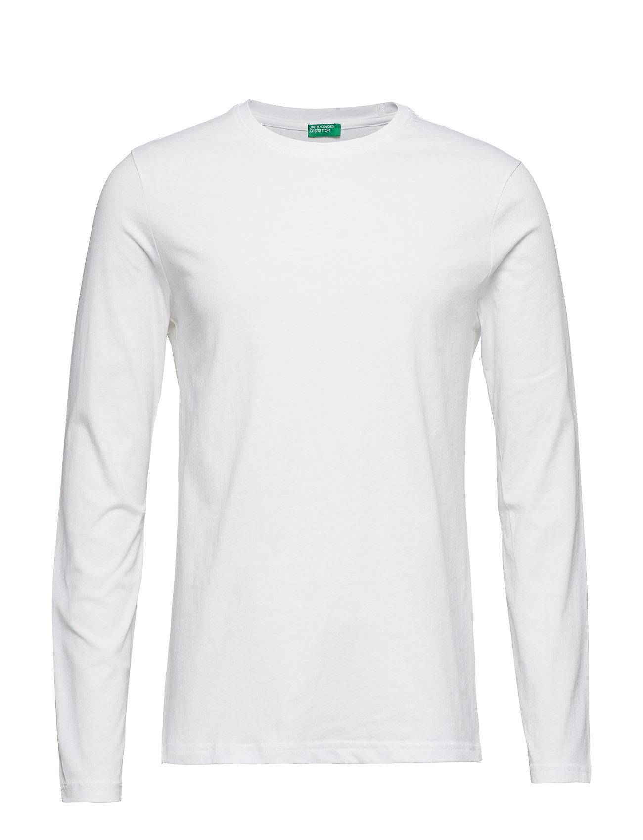 T-Shirt L/S United Colors of Benetton T-shirts til Mænd i