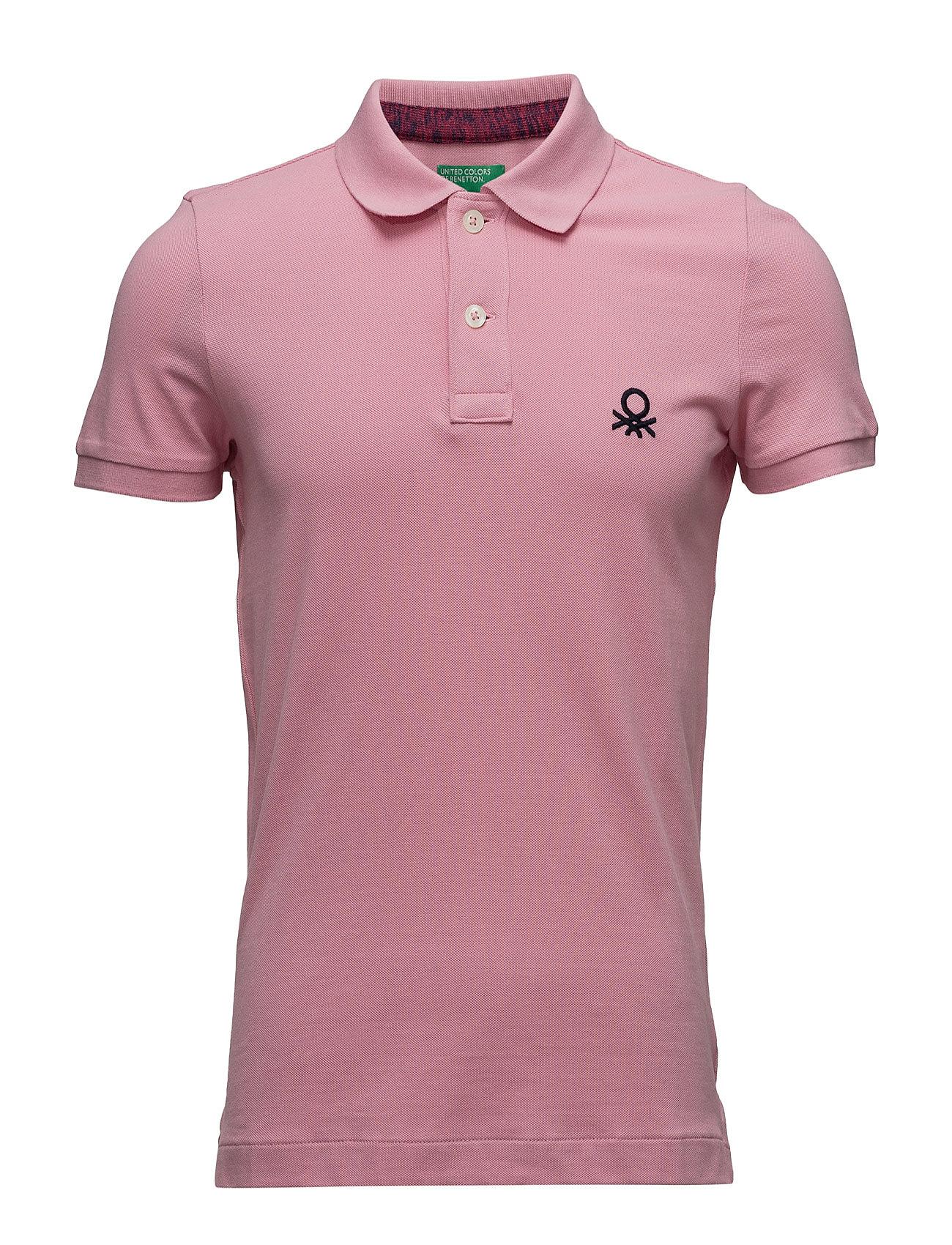 H/S Polo Shirt United Colors of Benetton Kort Ärm Pikétröjor