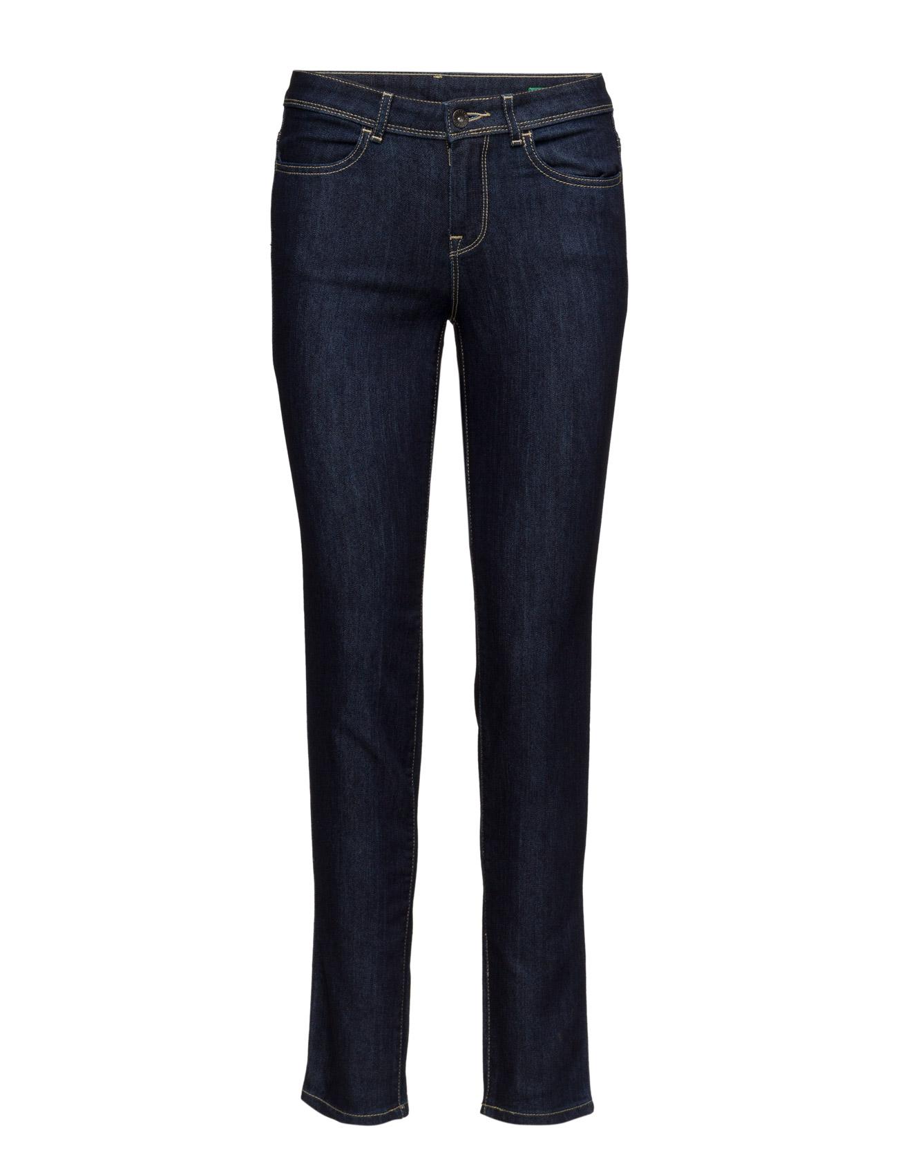 Trousers United Colors of Benetton Skinny til Kvinder i Mørkegrå