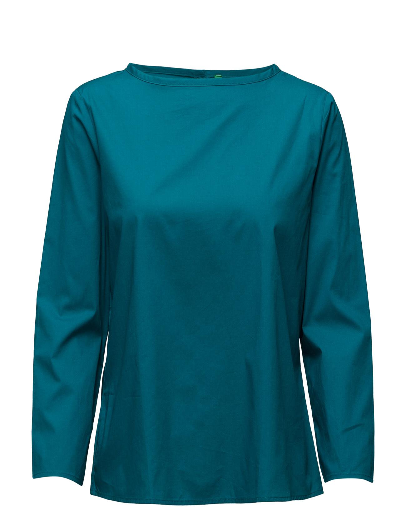 Blouse United Colors of Benetton Langærmede til Damer i