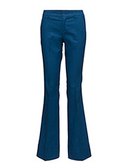 TROUSERS - BLUE/ WHITE