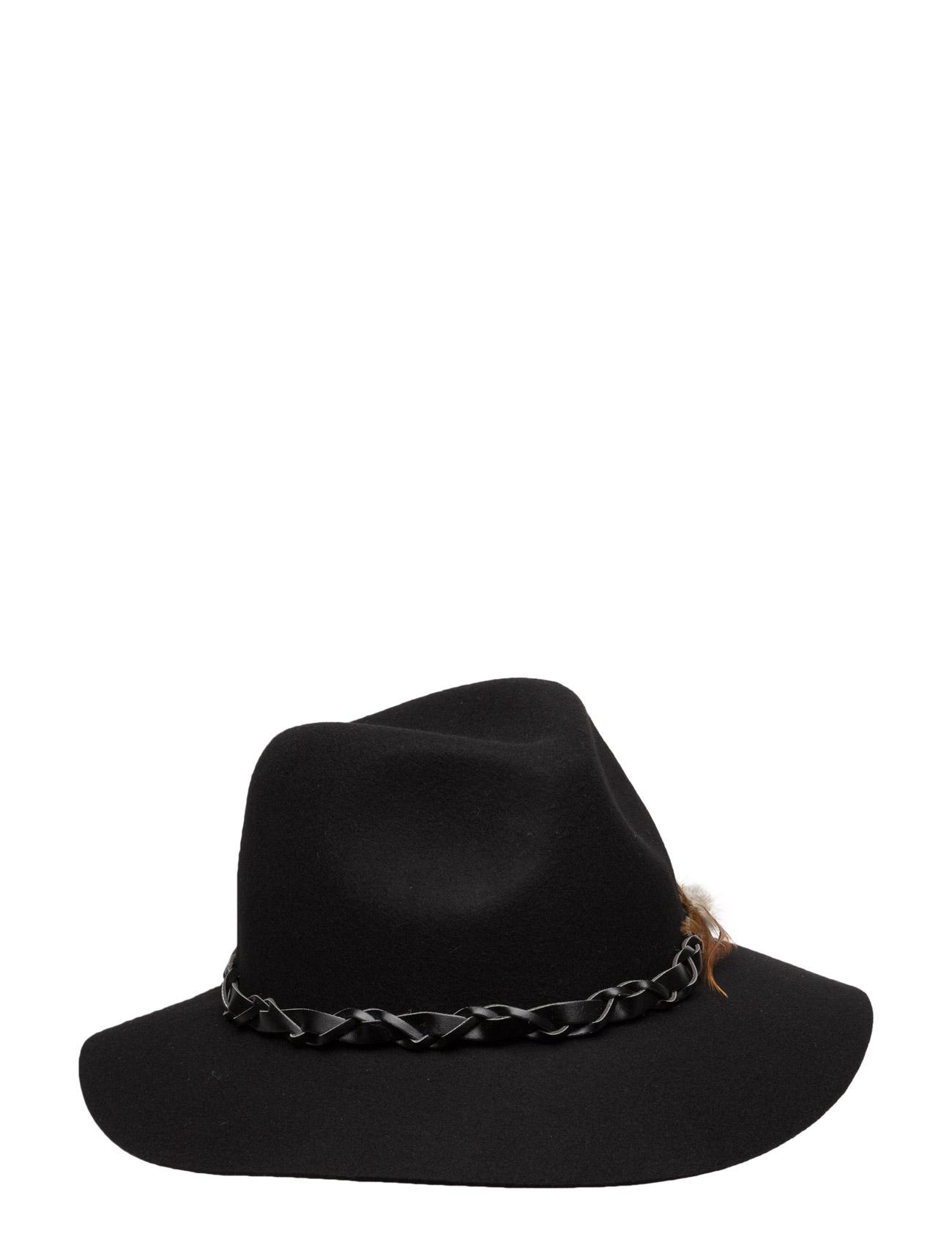 Felt Hat W. Feathers UNMADE Copenhagen Hatte & Caps til Damer i