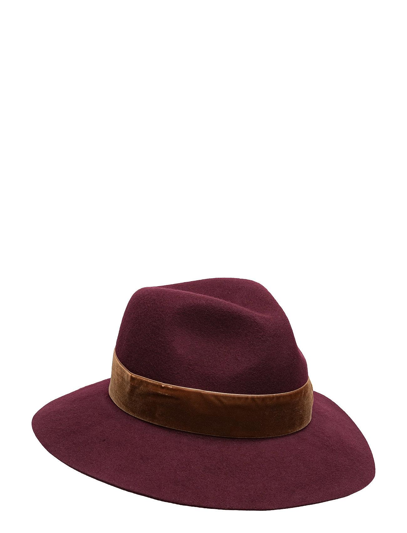unmade copenhagen Hat with velvet band fra boozt.com dk