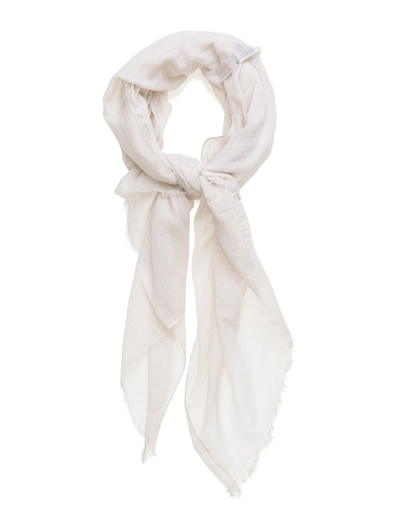 Solid Melange Scarf UNMADE Copenhagen Halstørklæder til Damer i Fløde