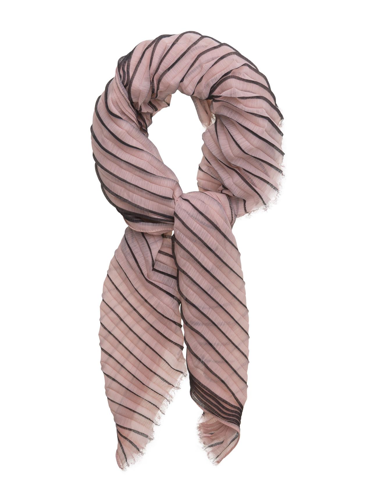 Pleated stripe scarf fra unmade copenhagen på boozt.com dk