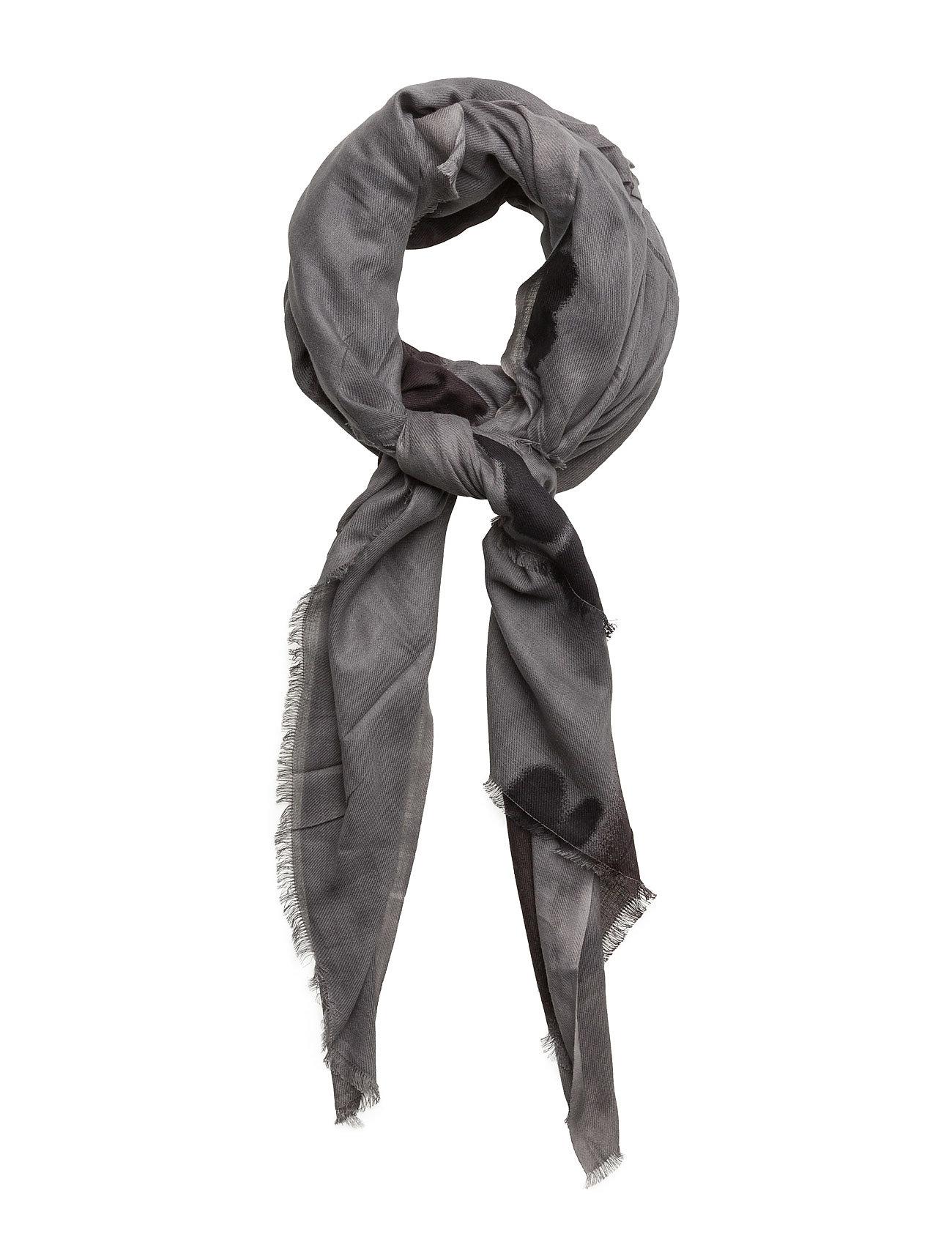 Art Brush Scarf UNMADE Copenhagen Halstørklæder til Damer i Grå