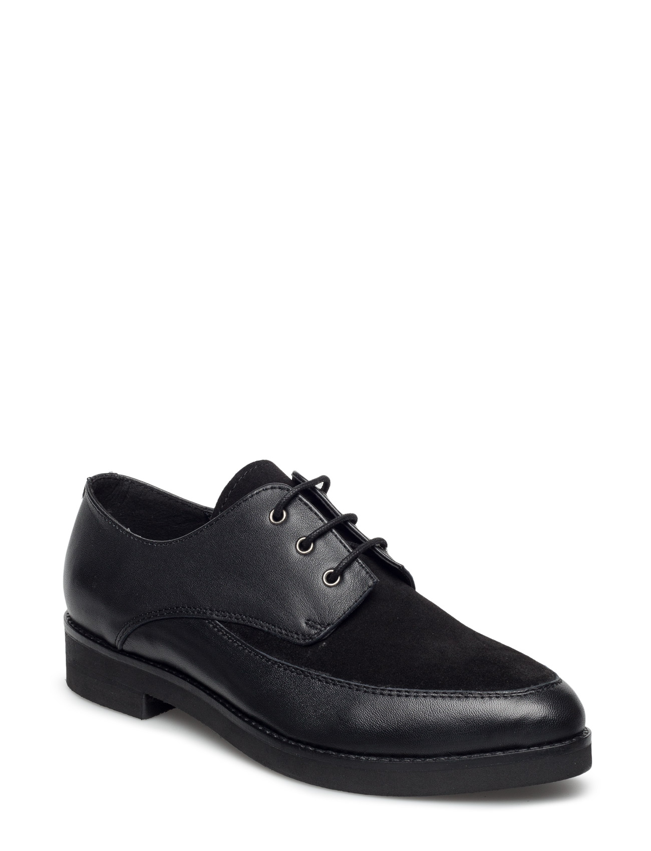 Classic Shoe With Laces UNMADE Copenhagen Flade sko til Damer i Sort