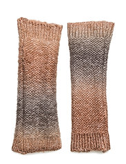Dip dye knit fingerless - POWDER