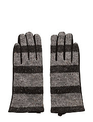 Knit glove - BLACK
