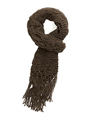 Bubble knit scarf - HUNTER