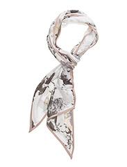 Marble bow tie - WHITE