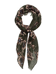 Blossom scarf - GREEN