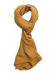 Plisse scarf - CINNAMON