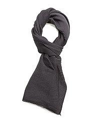 Plisse scarf - GREY