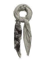 Paint stroke scarf - GREY