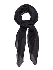 Cashmere wool scarf - NAVY
