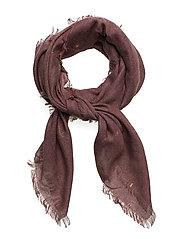 Winter night scarf - WINE