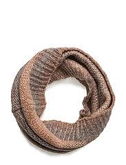 Dip dye knit tube - POWDER