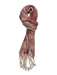 Blurry hairy scarf - WINE