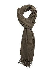 Solid color scarf - KHAKI