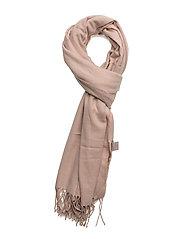 Solid color scarf - POWDER