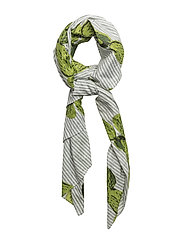 Calico cactus scarf - GREEN