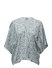 Summer field kimono - DENIM BLUE