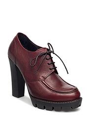 Classic shoe w heel - WINE
