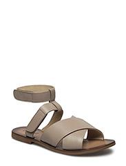 Thick strap sandal - IVORY