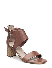 High heeled sandal - TAUPE