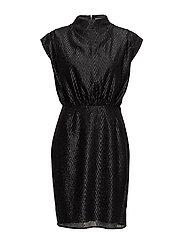 Liz Short Dress - BLACK