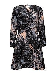 Katie Short Dress - MULTICOLOR