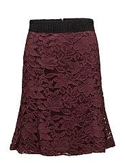 Mahlia Skirt - BORDEAUX