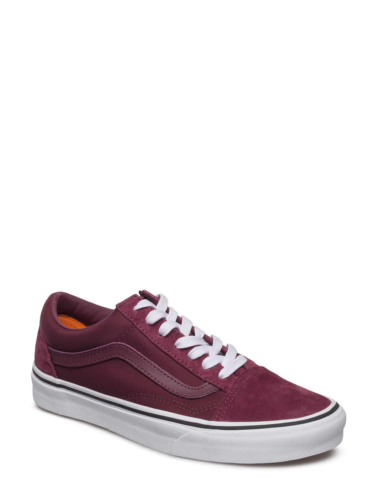 Ua Old Skool (Suede) Black/B VANS Sneakers til Herrer i