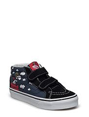 UY SK8-MID REISSUE V (PEANUTS)FLY - (PEANUTS) FLYING ACE/DRESS BLUES