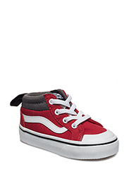 TD Racer Mid - (CANVAS) RACING RED/PEWTER