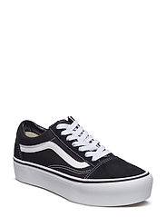UA OLD SKOOL PLATFOR GrapeLeaf/Tr - BLACK/WHITE
